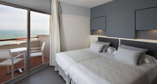 Hotel El Puerto By Pierre & Vacances - Fuengirola - Makuuhuone