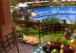 馬拉喀什棕櫚園村公寓酒店 - 馬拉喀什 - 馬拉喀什 - 室外景
