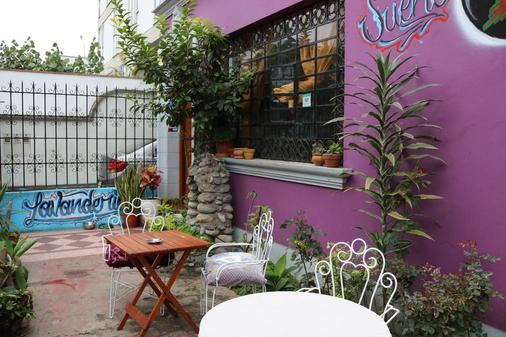 Explorers House - Hostel - Lima - Patio