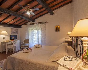 Hotel Colle Etrusco Salivolpi - Кастеллина-ин-Кьянти - Спальня