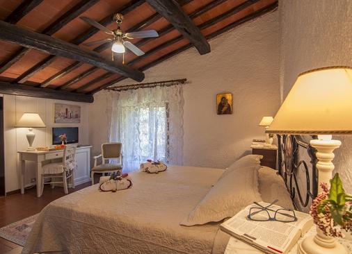 Hotel Colle Etrusco Salivolpi - Castellina in Chianti - Κρεβατοκάμαρα