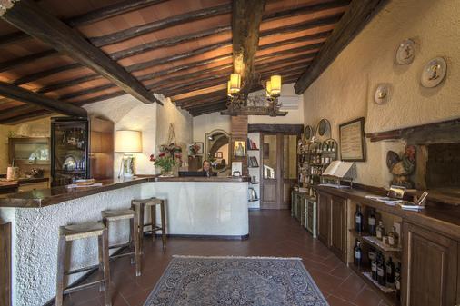 Hotel Colle Etrusco Salivolpi - Castellina in Chianti - Ρεσεψιόν