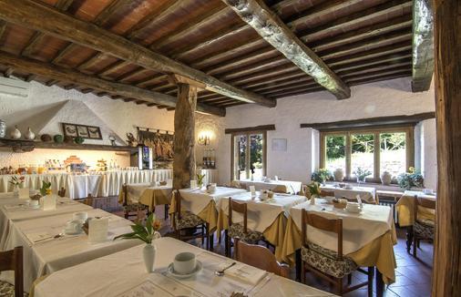 Hotel Colle Etrusco Salivolpi - Castellina in Chianti - Τραπεζαρία