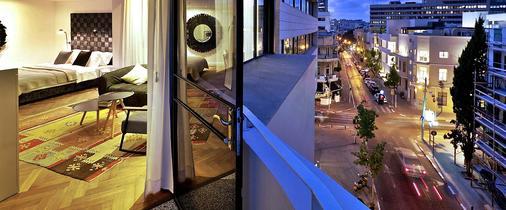 Townhouse Boutique Hotel Tel Aviv - Tel Aviv - Parveke