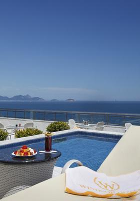 溫莎皇宮酒店 - 里約熱內盧 - 里約熱內盧 - 游泳池