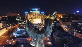 Hotel Ukraine - Kiev - Vista del exterior