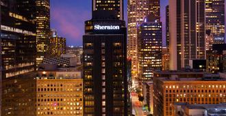 Sheraton Grand Los Angeles - Лос-Анджелес - Вид снаружи