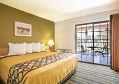 埃利斯島賭場拉斯維加斯大道區速8酒店 - 拉斯維加斯 - 臥室
