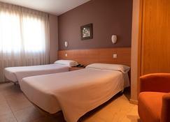 Hotel Apartamentos Ciudad de Lugo - Lugo - Schlafzimmer