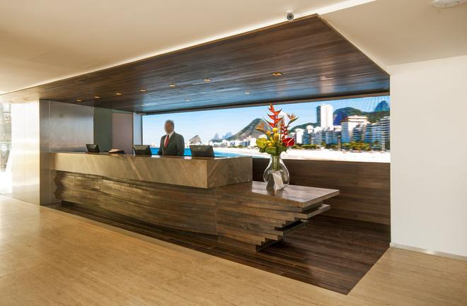 Arena Leme Hotel - Rio de Janeiro - Recepção