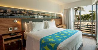 Arena Leme Hotel - Ρίο ντε Τζανέιρο - Κρεβατοκάμαρα
