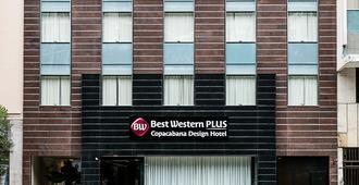 最佳西方Plus科帕卡巴納設計飯店 - 里約熱內盧 - 建築