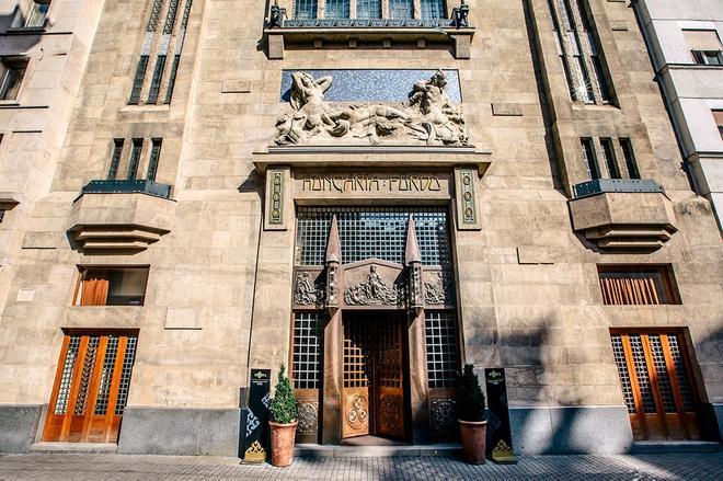 Continental Hotel Budapest - Budapest - Gebäude