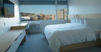 城市飯店 - 西雅圖 - 臥室