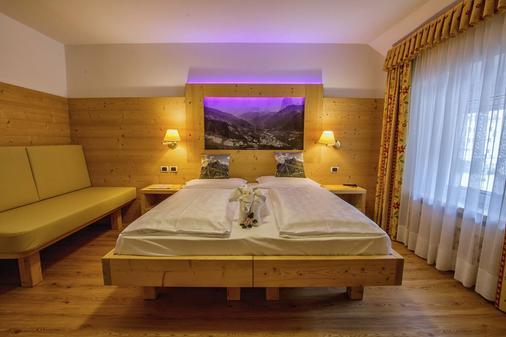 Hotel Garni Snaltnerhof - Ortisei - Makuuhuone