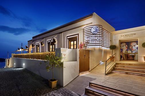 La Maltese Estate, Buddha-Bar Beach Santorini - Firá - Rakennus