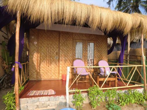 Hotel Resort Ducknchill-agonda - Canacona - Βεράντα