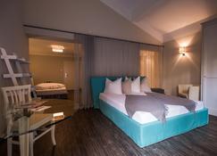THOMSN-Rock.Hotel - Saalbach - Makuuhuone