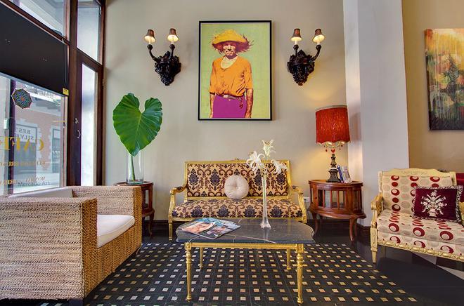 CasaBlanca Hotel - San Juan - Living room