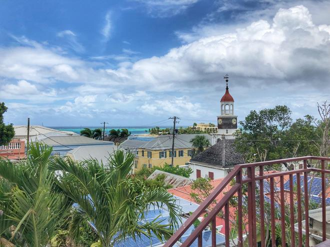 Company House Hotel - Christiansted - Parveke