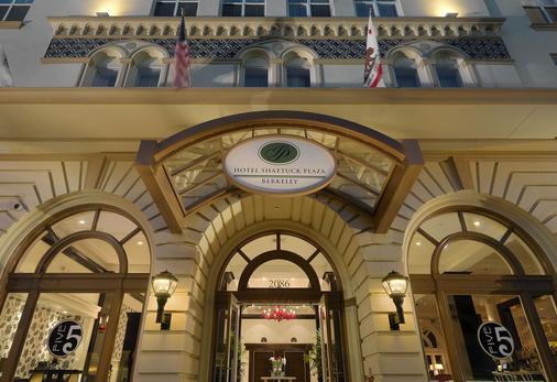 夏塔克廣場酒店 - 柏克萊 - 柏克萊 - 建築