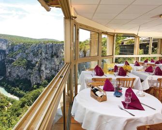 Hotel Grand Canyon du Verdon - Aiguines - Restaurant