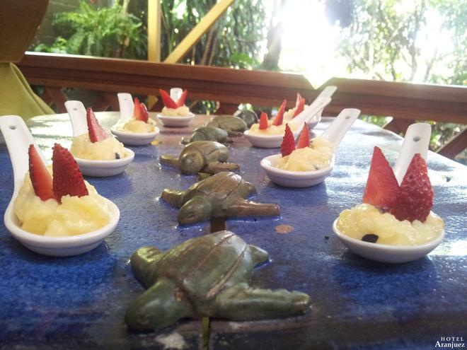 Hotel Aranjuez - San José - jedzenie