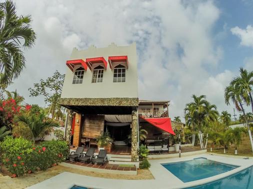 Hotel Buddha Villa - San Andrés - Rakennus