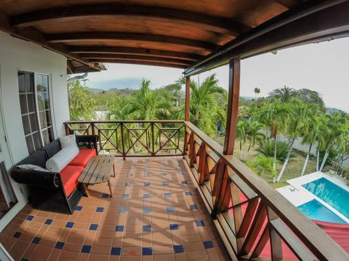 Hotel Buddha Villa - San Andrés - Parveke