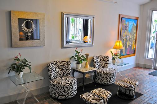 Hotel Pierre - Miami Beach - Living room