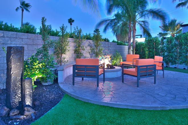 The Palm Springs Hotel - Palm Springs - Patio