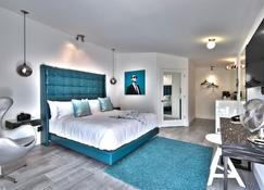 The Palm Springs Hotel - Палм-Спрингс - Спальня