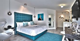 The Palm Springs Hotel - פאלם ספירנגס - חדר שינה