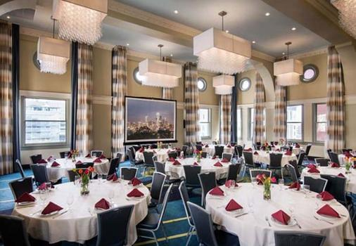Courtyard by Marriott Seattle Downtown/Pioneer Square - Seattle - Banquet hall