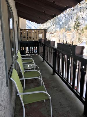 Der Matterhorn - Leavenworth - Balkon