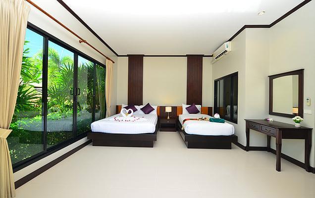 Naiharn Garden Resort Vil - Rawai - Bedroom