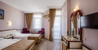 Hotel Ergun - אלניה - חדר שינה