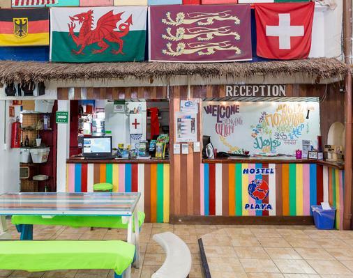 Hostel Playa by the Spot - Playa del Carmen - Vastaanotto