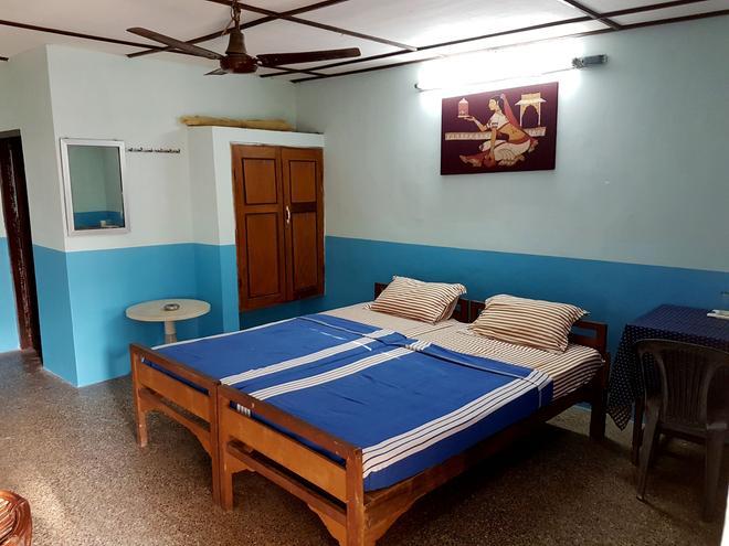 'O' Palmar Beach Cottages Benaulim - Benaulim - Bedroom
