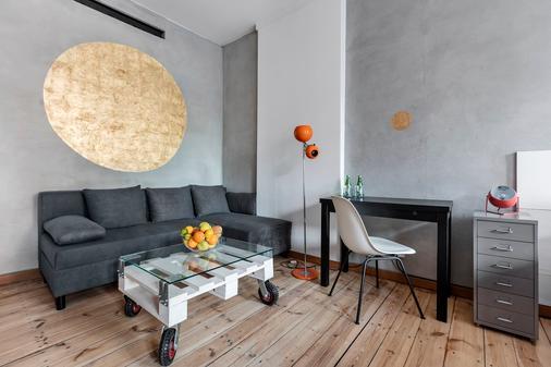 Arthotel Stalowa 52 - Warsaw - Living room