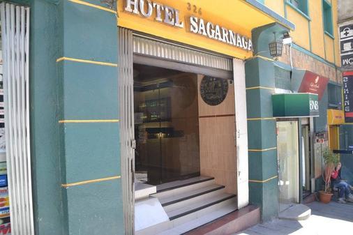 Hotel Sagarnaga - La Paz - Building