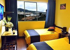 هوتل ساجارناجا - لا باز - غرفة نوم