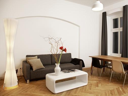 卡里托公寓式酒店 - 柏林 - 客廳