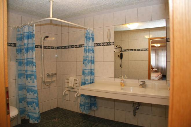 Hotel Zum Bürgergarten - Südharz - Bathroom