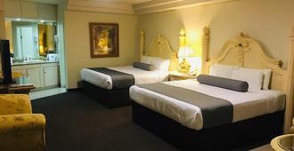 Hotel Frontiere - טיחואנה - חדר שינה