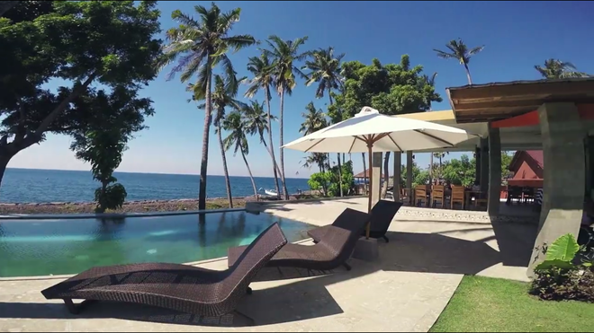 Pebble & Fins Bali Resort - Denpasar - Patio