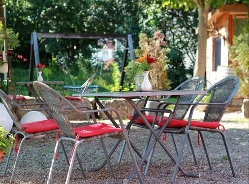 Gästehaus am Wasserpark - Rust - Patio