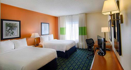 紐華克自由國際機場萬豪費爾菲爾德旅館及套房酒店 - 紐華克 - 紐瓦克 - 臥室