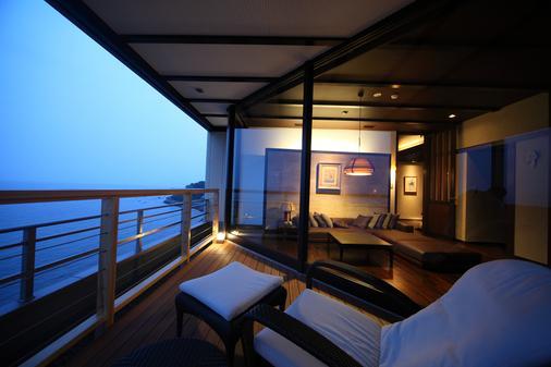 Shiosai no yado Seikai - Beppu - Balcony