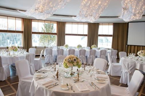 Arosa Kulm Hotel and Alpin Spa - Arosa - Bankettsaal